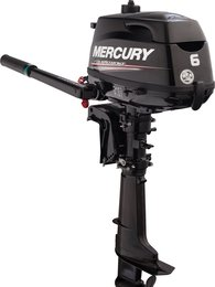 Mercury Four Stroke 4 - 6 Hp Engine