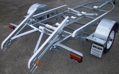 Mackay KR Single Axle Trailer