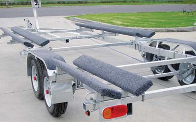 Mackay Pontoon Single Axle Trailer