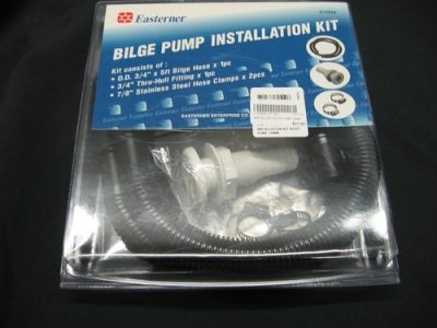 Easterner Bilge Pump Installation Kit.