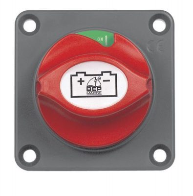 BEP MARINE CONTOUR SWITCH PANEL 3 GANG W/ CIG LIGHTER