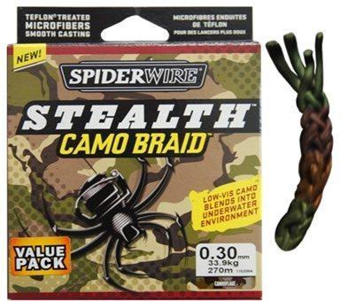 STEALTH CAMO 8LB SPIDER 125YD