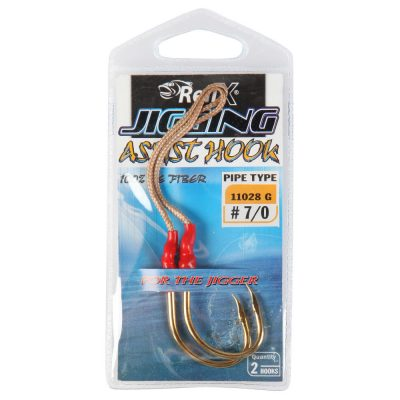 RELIX JIGGING ASSIST HOOK #4/0 2PK