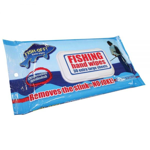 HAND WIPES FISH OFF