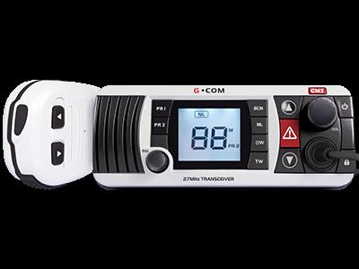 GME GCOM GX400 27MHZ WHITE RADIO