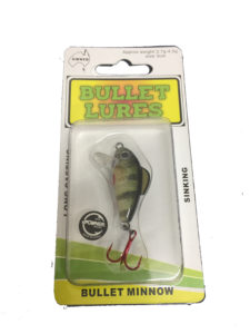 bullet lures minnow