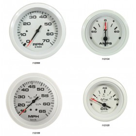 Veethree Arctic White Gauges