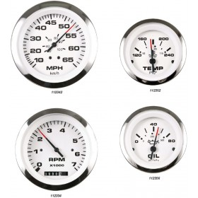 Lido Pro Domed Gauges