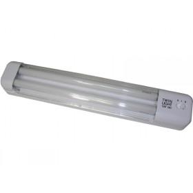 Large Twin Light - Fluoro