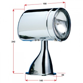 Guest® Spotlight/Floodlight - Remote Control Stainless Steel