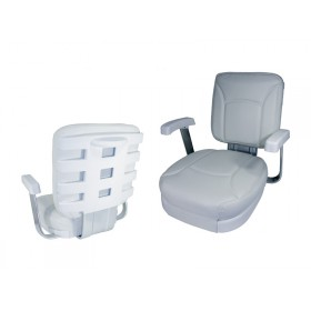 Deluxe Ladderback Chair White
