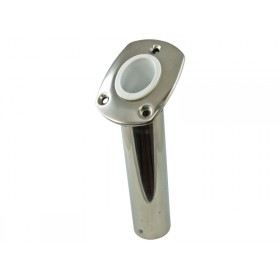 Flush Mount Rod Holder - Stainless Steel