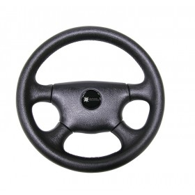 Steering Wheel - Legend Four Spoke Black PVC