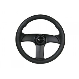 Steering Wheel - Viper Three Spoke Black PVC