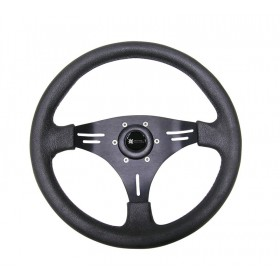 Steering Wheel - Manta Three Spoke Aluminium