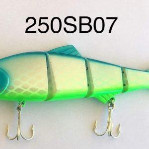 King Hit Lures 250mm Swimbait Blue Green