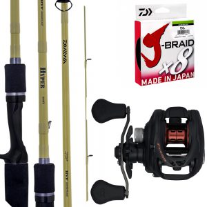 Daiwa Combo TD Hyper 641 B/C and Fuego CT100H