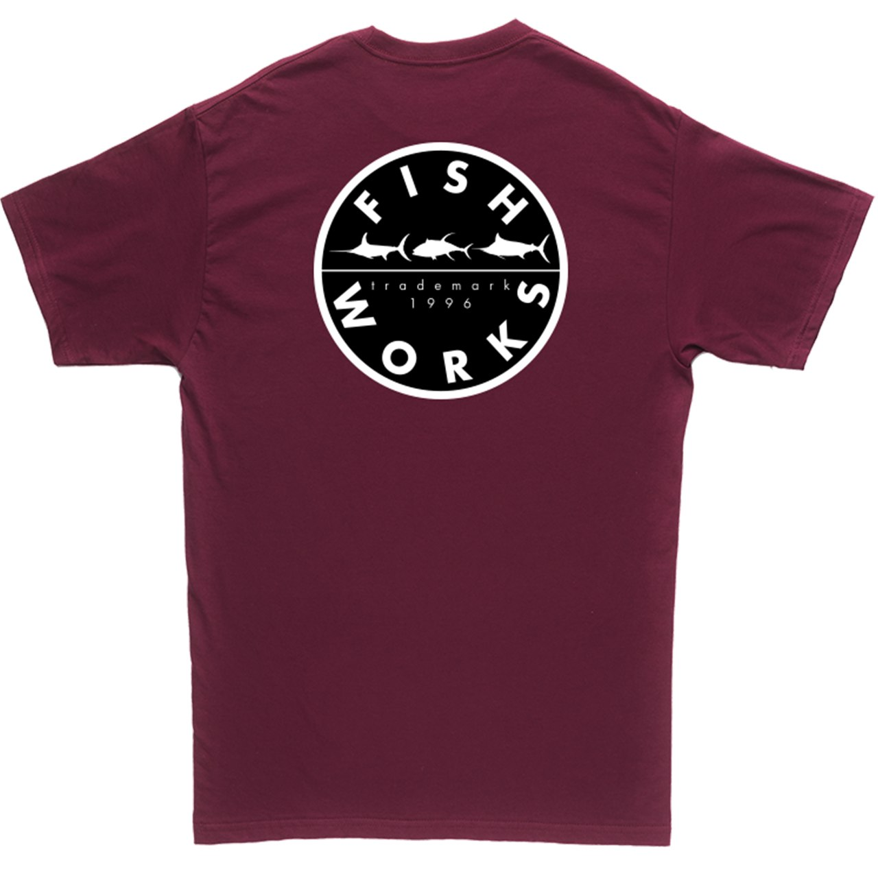 Original Tee Maroon Back